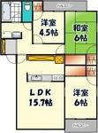 サニーコート成瀬Ⅰ-22号室(間取図).jpg